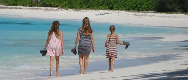 dejlig strand på maldiverne
