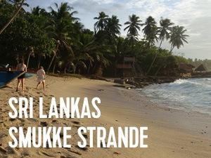smukke strande på sri lanka