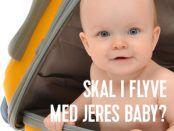flyvetur med baby