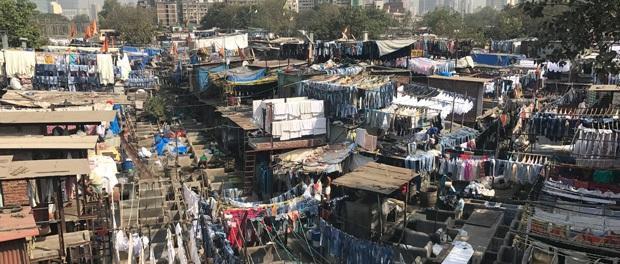 vaskeri i indien
