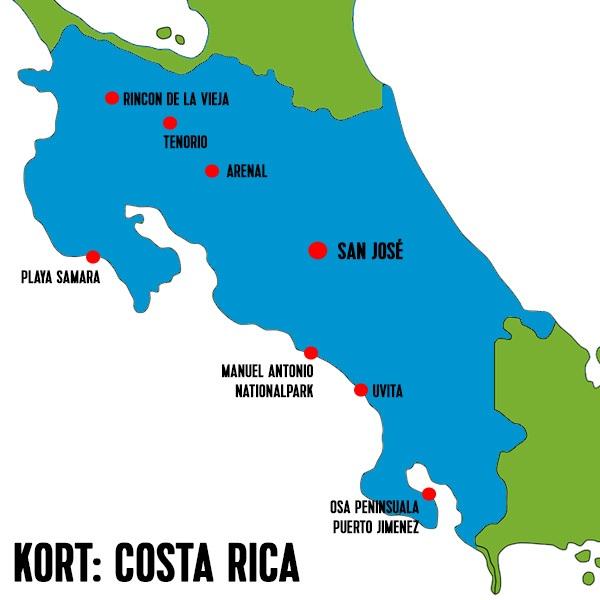 costa-rica-kort