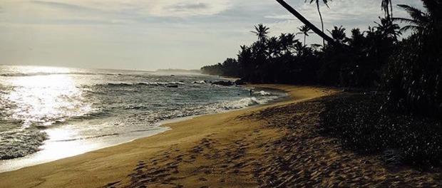 skøn strand ved pohlena