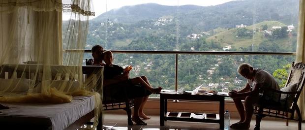 Hotelværelset i Kandy