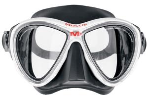 dykkermaske med styrke fra hollis m3 modellen