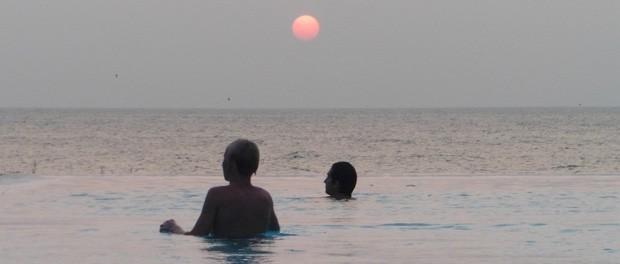 poolen på resortet