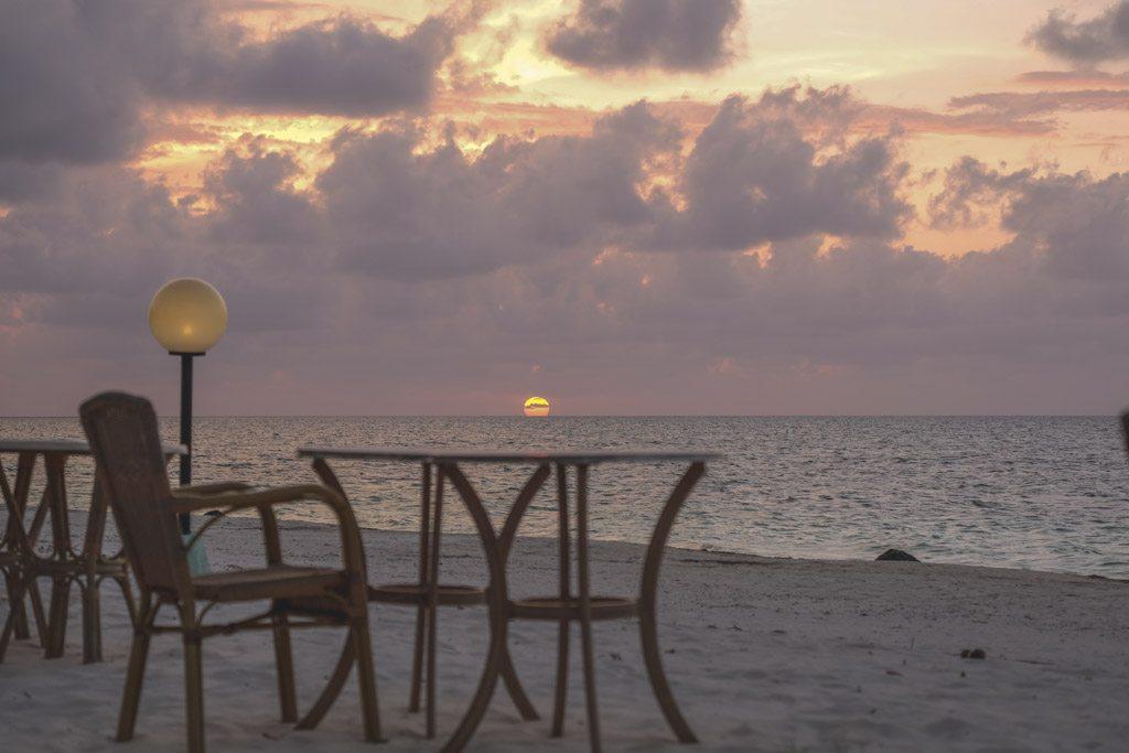 solnedgang er altid smuk - også ved cayo levisa