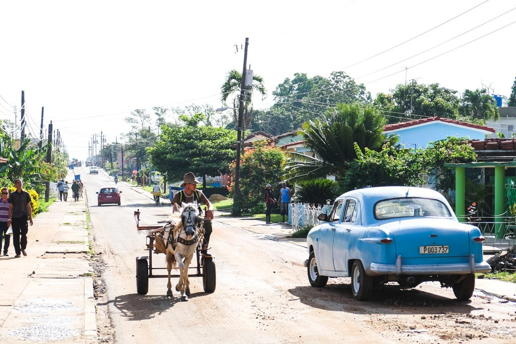transporten er alternativ på cuba