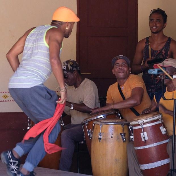 Afrika musik i trinidad