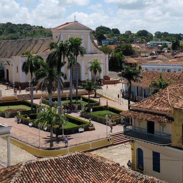 kirke ved pladsen i trinidad