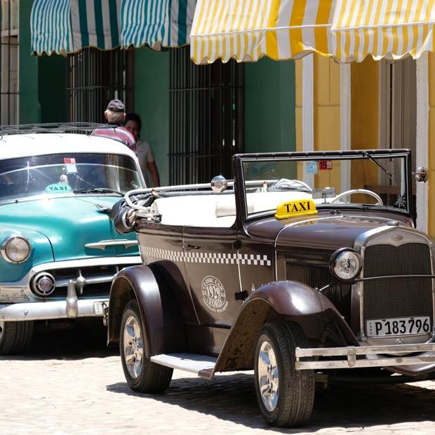gamle biler i trinidad