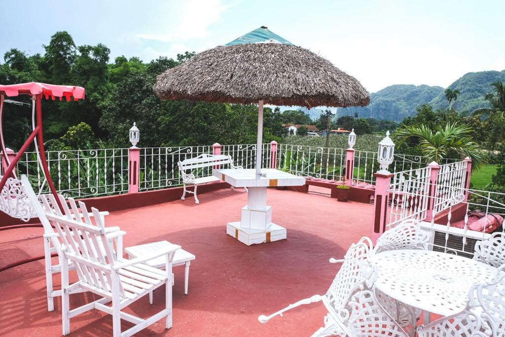 rooftop casa particulares vinales cuba