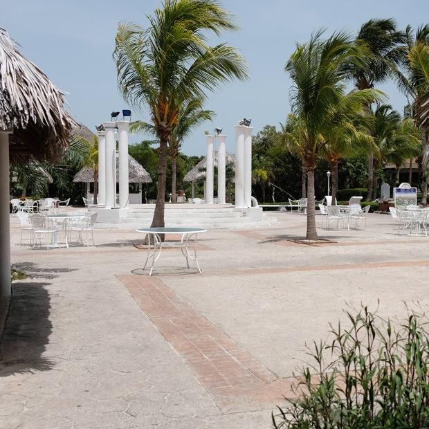 stedet hvor man fested om aftenen på las dunas