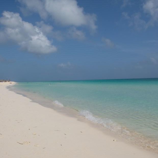 stranden på cayo santa maria
