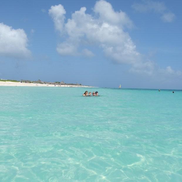 det skønne vand på cayo santa maria