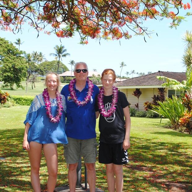 her boede vi på hawaii