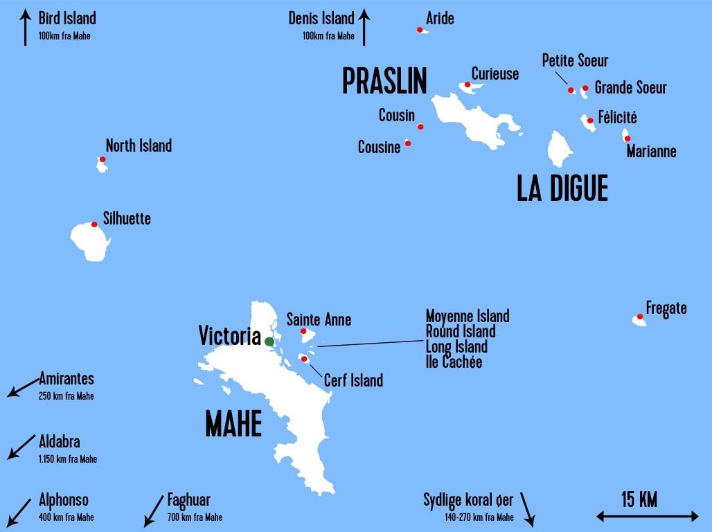 Se Hvilke Oer Pa Seychellerne Der Passer Til Jeres Onsker For En