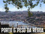 rejse til portugal, porto, peso da regua med børn