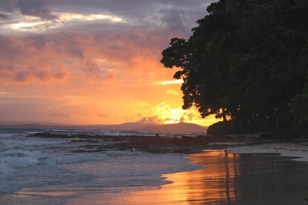solnedgang på havelock