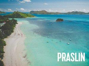 praslin på seychellerne
