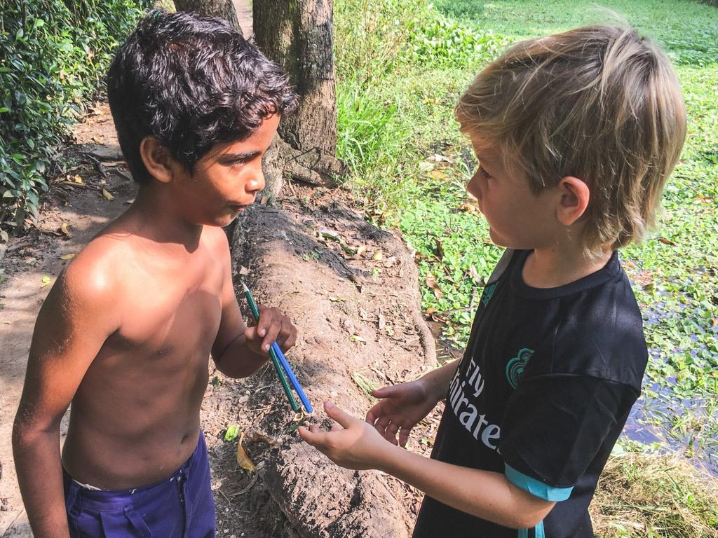 god kontakt med lokalbefolkningen i indien