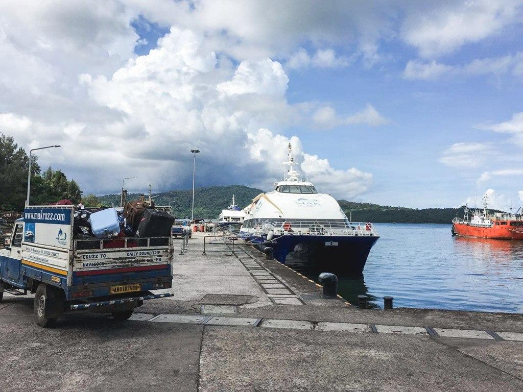 færgen mellem port blair og havelock