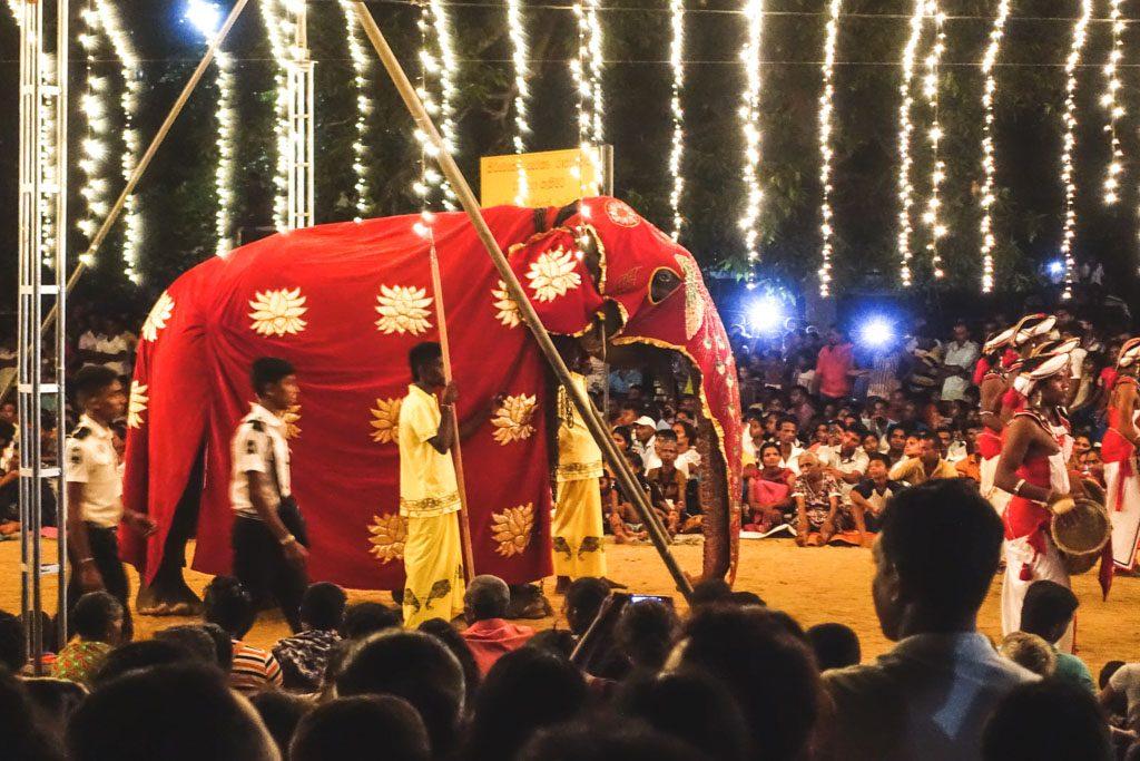 festival i kataragama - en stor oplevelse men synd for elefanterne
