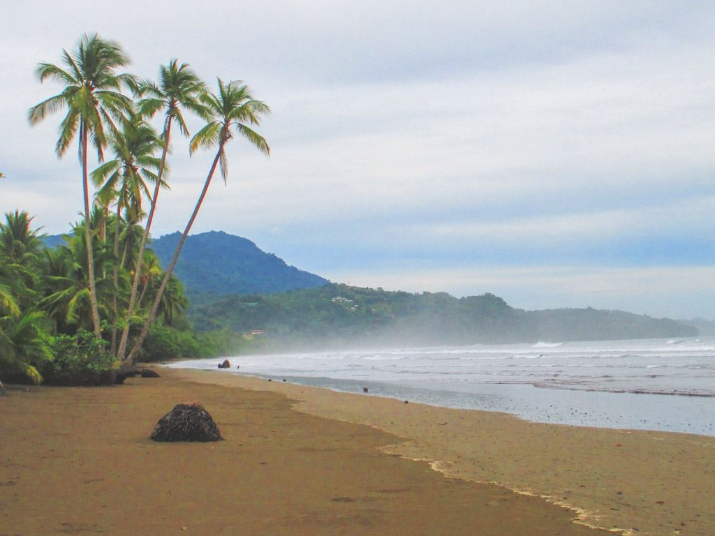 lækre strande på costa rica