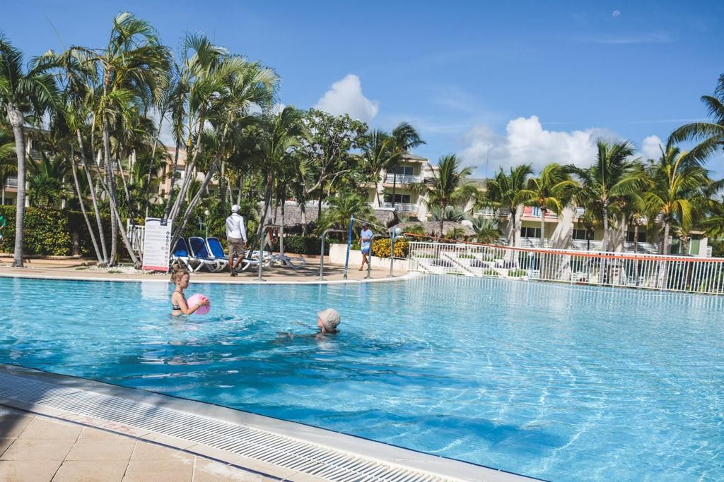 pool på cayo coco