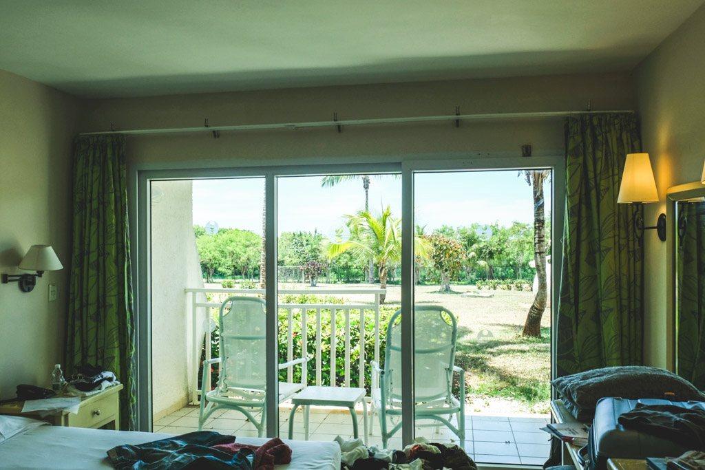udsigt fra vores værelse på cayo coco