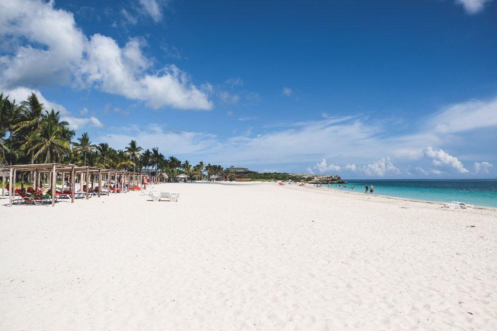 strand og badeferie på cuba og cayo coco