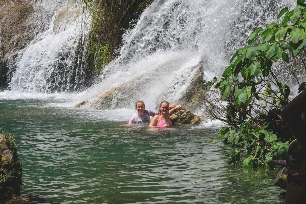 cienfuegos vandfald på vej til trinidad