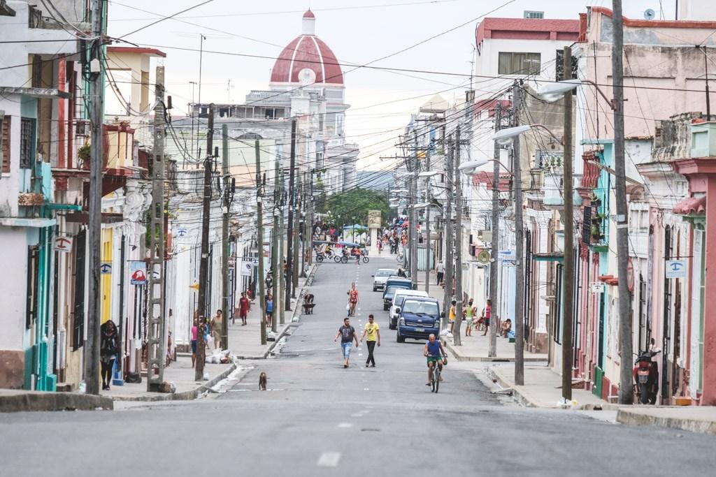 cuba city downtown cienfuegos