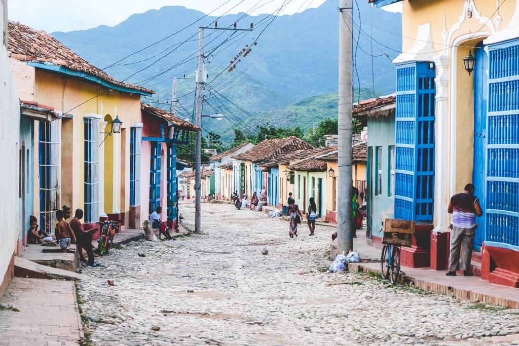 trinidad cuba old town