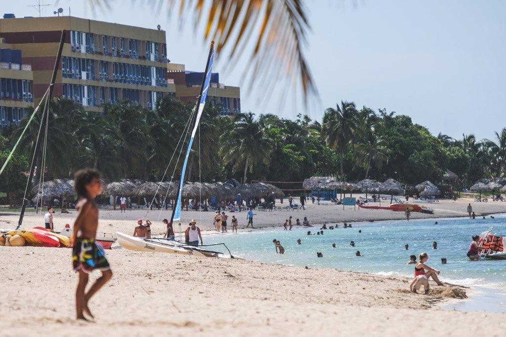strand tæt på trinidad