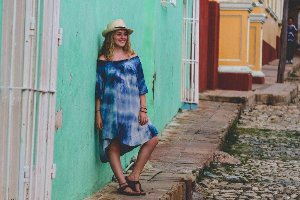 fotomodel for en dag i trinidad