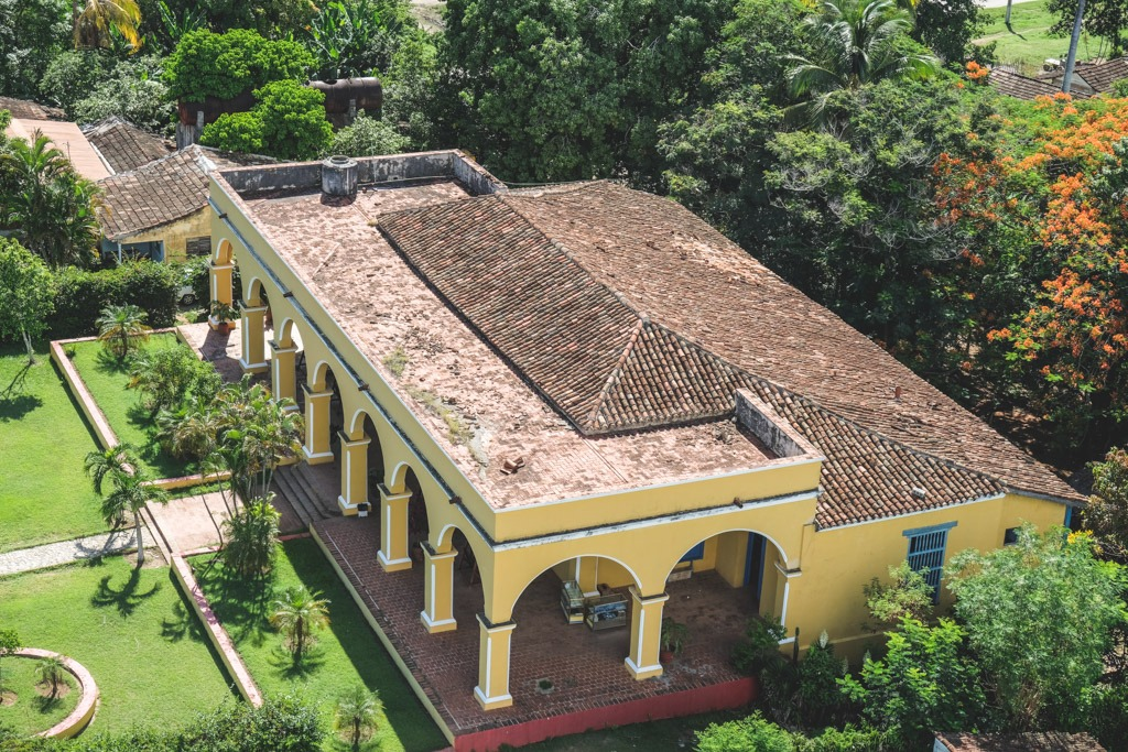 gammel bygning sukkerrør