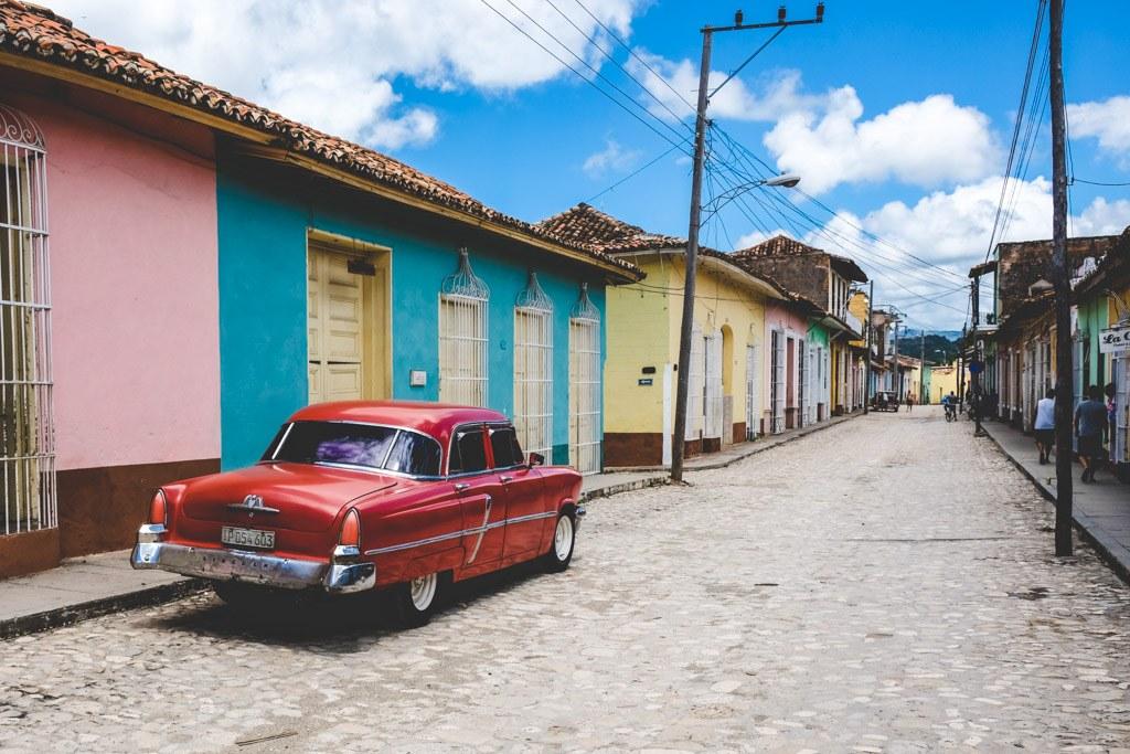 trinidad den gamle del af byen