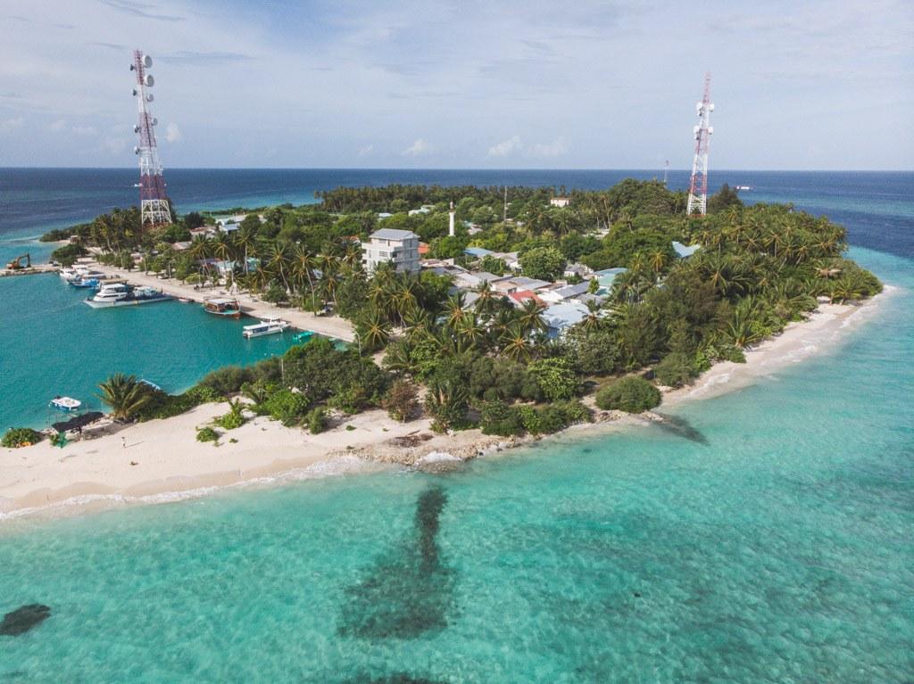 felidhoo lokal ø i vaavu atollen
