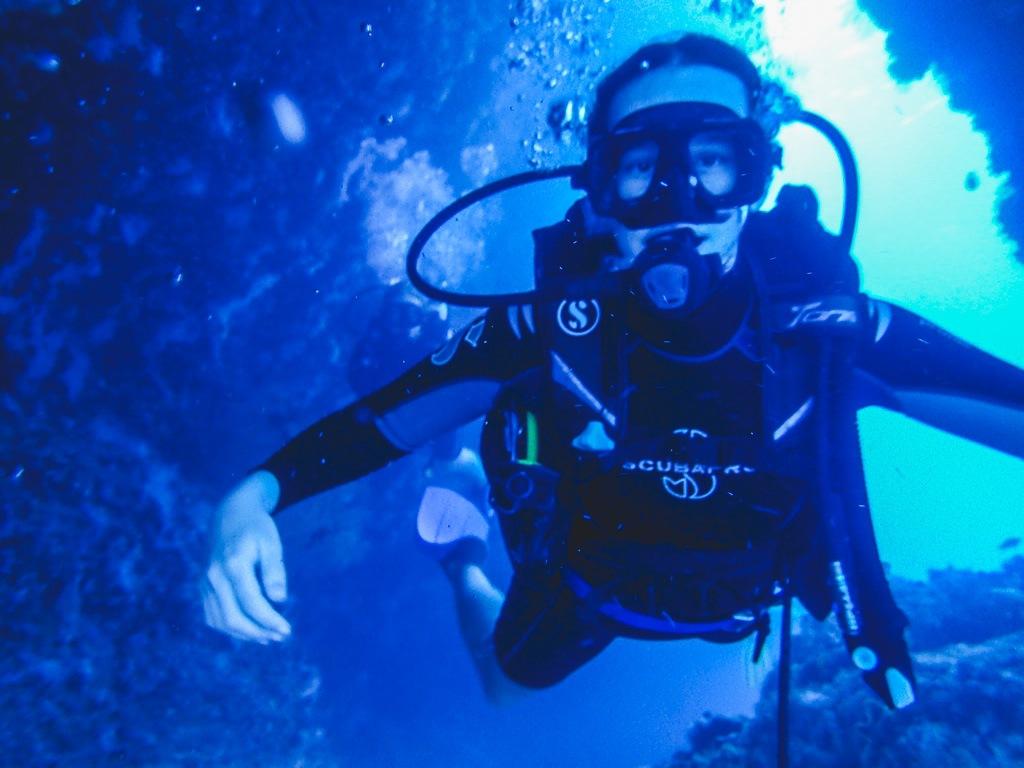 dykning på maafushi