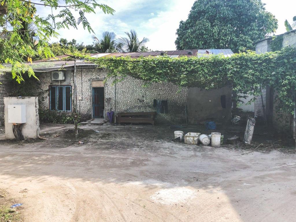 et lokalt hus på ukulhas