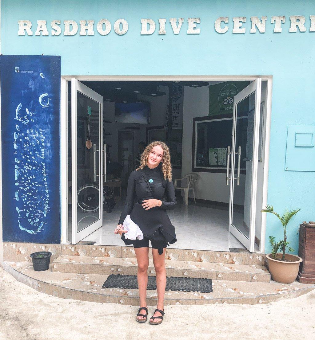 dykkercenteret på rasdhoo
