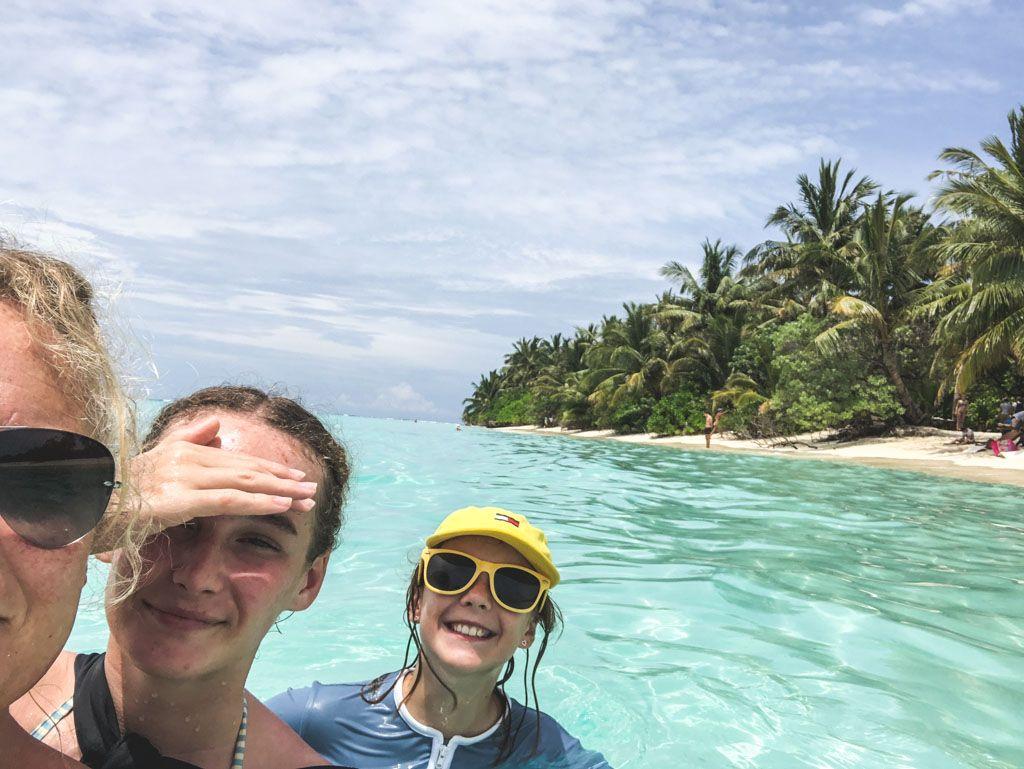 familieferie på maldiverne