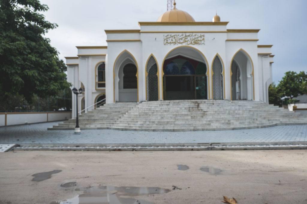 moskeen på thoddoo