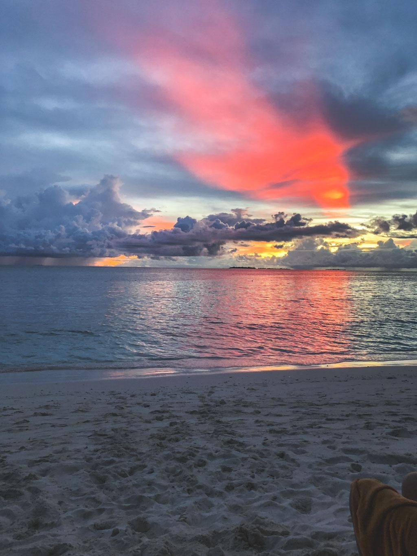 solnedgang ved ukulhas