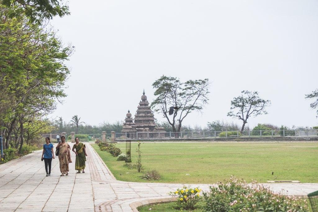 mahabalipuram templer ved kysten