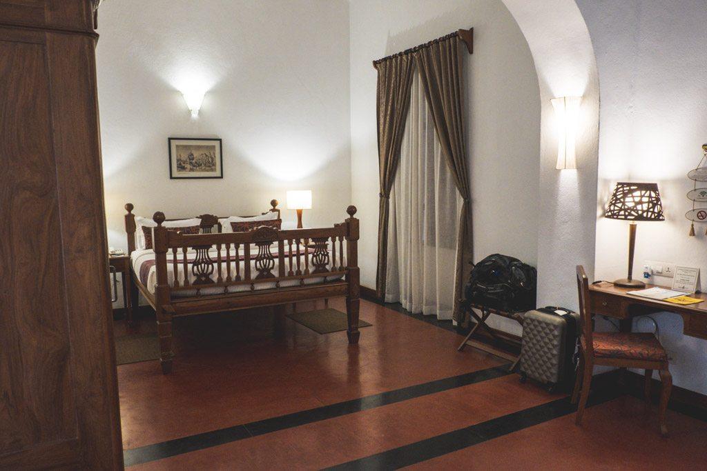 værelserne på pondicherry