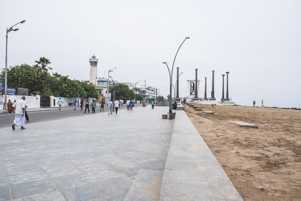 pondicherry strand promenade