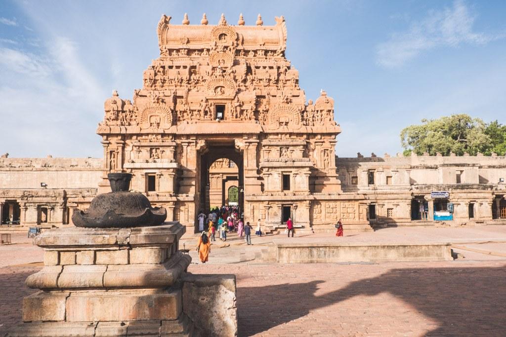 tempel i thanjavur