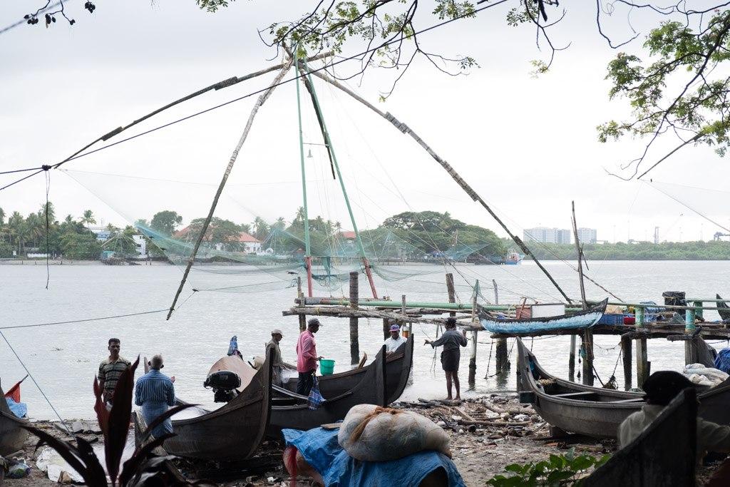 kochi kinesiske fiskenet