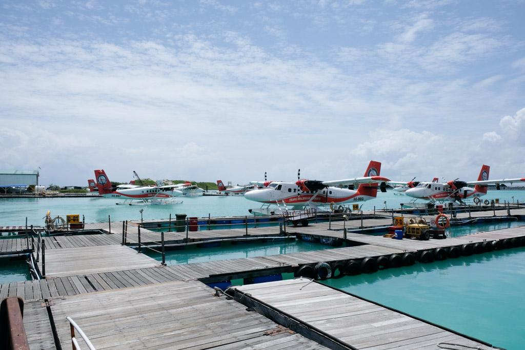 Vandflyterminalen - vandflyet, der skal bringe os til Maafushivaru